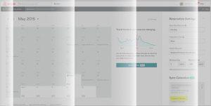 esempio dell'interfaccia utente di airbnb